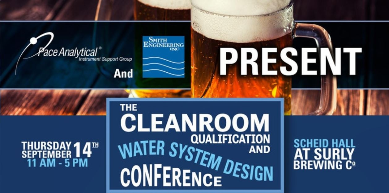 Join us at the cleanroom qualification and water system for Clean room design qualification