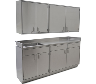Stainless Steel Inset Casework