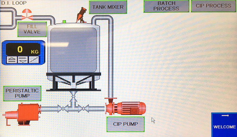 Hybrid mixer Interface